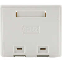 Excel Category 5e Plus Surface Mount Box - 2 Port - White