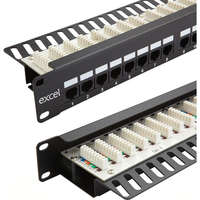 Excel Category 6 Unscreened Patch Panel -...