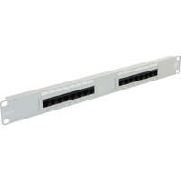 Excel Category 5e Unscreened Patch Panel - 16-port, 1U - Beige
