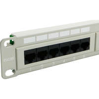 Excel Category 5e Unscreened Patch Panel - 24-port, 1U - Beige