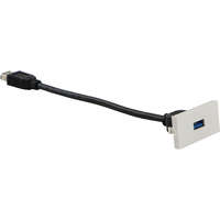 Excel Office 25x50 USB 3.0 snap in adaptor with 150mm flylead