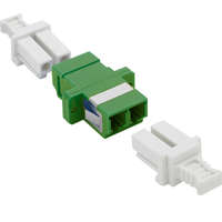 Enbeam LC/APC Duplex Adaptor Singlemode - Green...