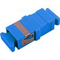 Enbeam SC Simplex flangeless Singlemode adaptor - Blue