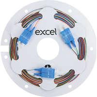 Enbeam Fibre Pigtail OS2 9/125 SC/UPC 12-colour pack (TIA 598) - 2m