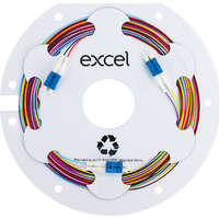 Enbeam Fibre Pigtail OS2 9/125 LC/UPC 12-colour pack (TIA 598) - 2m