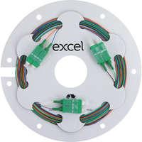 Enbeam Fibre Pigtail OS2 9/125 SC/APC 12-colour pack (TIA 598) - 2m