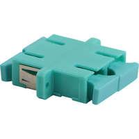 Enbeam SC Duplex Adaptor Multimode - Aqua (6-pack)