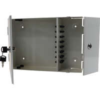 Enbeam 2 Door Lockable Wall Mounted Enclosure - 24 Port ST
