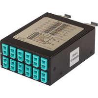 Enbeam High Density OM3 MTP Fibre Cassette 12 Duplex LC (24 Core)