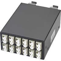 Enbeam High Density OM4 MTP Fibre Cassette 6 Duplex LC (12 Core)