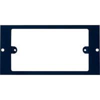 Plaque double Excelpour boîtier de plancher 350-601 3compartiments
