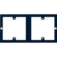 2 Plaques simples Excelpour boîtier de plancher 350-601 3compartiments