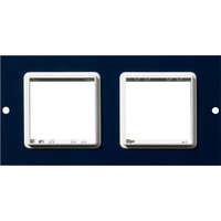 2 Plaques Euromod simple Excelpour boîtier de plancher 350-601 3compartiments