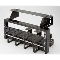 Excel 8U Patch Rack - Black