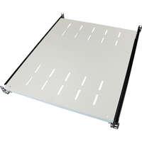 Environ Sliding Shelves - 550mm depth (Mounting Depth: 605mm-875mm) - Grey White
