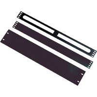 Excel 1U Blanking Plate - Black