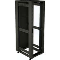 Environ CR600 15U Rack 600x600mm Glass (F) Steel (R) N/Panels No/Mgmt Black - F/Pack