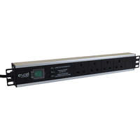 Excel 4-way Horizontal PDU - 4xUK sockets, UK plug - Filtered