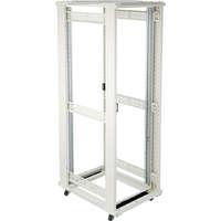 Environ CR600 24U Rack 600x600mm No Door (F) No Door (R) N/Panels No/Mgmt Grey White
