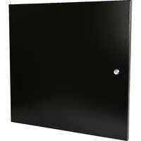 Steel front door for 9U Environ Wall Racks - Black