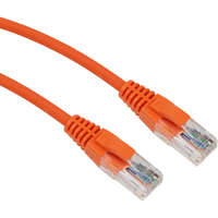 Excel Category 5e Patch Lead U/UTP Unshielded LS0H Blade Booted 1m - Orange