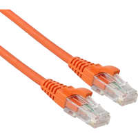 Excel Category 6 Patch Lead U/UTP Unshielded LS0H Blade Booted 3m - Orange