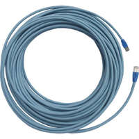 Excel Category 6A Solid Patch Lead U/FTP Shielded LS0H Blade Booted 20m - Ice Blue