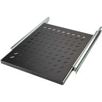 Environ Sliding Shelves - 550mm depth (Mounting Depth: 605mm-875mm) - Black