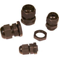 Enbeam PG 11 Cable Glands with Strain Relief...
